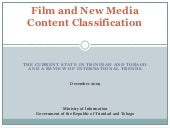 Film And Content Classification   S...