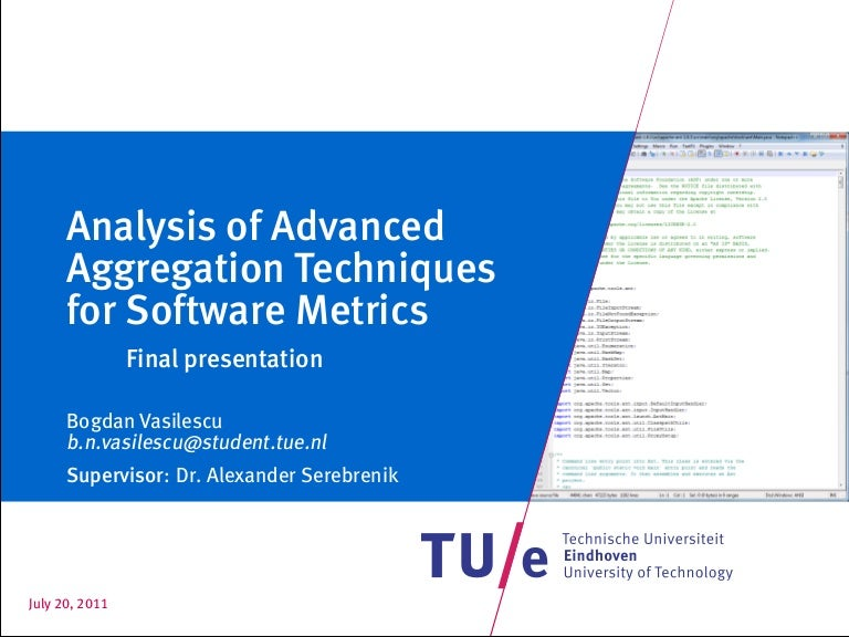Defense of masters thesis