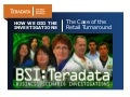 Teradata BSI: Case of the Retail Turnaround