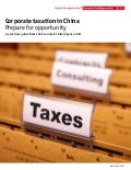 Corporate Taxation in China November 2011