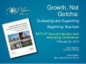 Growth, Not Gotcha: Evaluating and ...