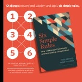 Smart Simplicity: 6 Rules for Managing Complexity