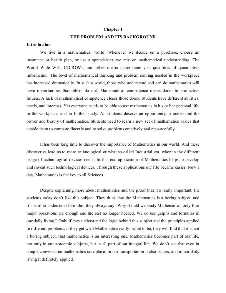 pay to get mathematics thesis proposal