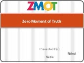 ZMOT : Zero Moment of Truth marketi...