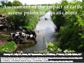 Assessment of the impact of cattle access points on aquatic biota - Conroy, Lally, Bruen, Rymszewicz, O'Sullivan, Turner, Kelly-Quinn