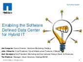 Enabling the Software Defined Data ...