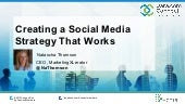 Creating a Social Media Strategy (That Works)