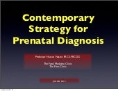 contemprary strategy for prenatal d...