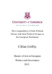 The Compatibility of Irish Politica...