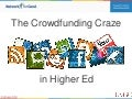 The Crowdfunding Craze in Higher Ed