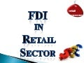 Final fdi in retail  ppt