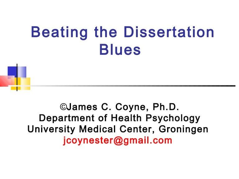 Dissertation defense date