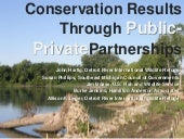 Conservation Results for Public-Pri...
