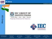 About IEC Group
