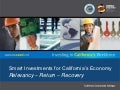 Smart Investments for California's Economy