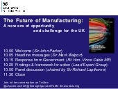 Future of Manufacturing launch - pr...