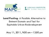 MAPC land pooling symposium present...