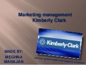 kimberly clark marketing assngmt