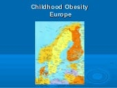 Obesity in European Children