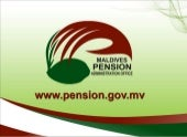 MALDIVES PENSION ADMINISTRATION OFFICE