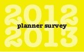 The Planner Survey 2012/2013