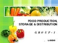 food production distribution & storage in india
