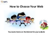 How to choose a Good Web Host- by WIPL (Websipders Interweb Pvt. Ltd.)