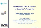 Contaminated Land in Ireland - A Co...