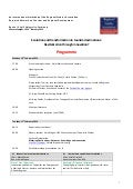 RSACatalonia 2014 workshop final programme: Evolution and transformation in tourism destinations.Revitalisation through innovation?