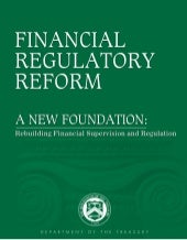 Financial Regulatory Reform: A New ...