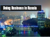 Should you do Business in Russia?