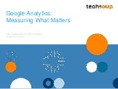 Webinar - Measuring What Matters with Google Analytics - 2015-12-3