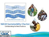 WASH Sustainability Charter: Collab...