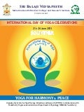 Souvenir of the International Day of Yoga 2015