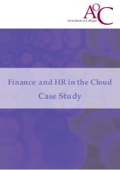 Finance  and hr in the cloud final version