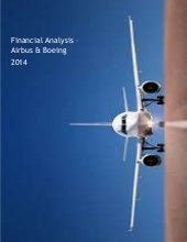 Financial Analysis boeing airbus