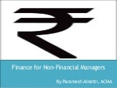 Finance for non financial managers ...