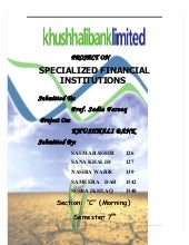 Khushhali Bank Survey