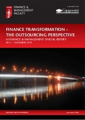 Finance Transformation the Outsourc...