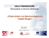 ¿Cómo atraer a un Business Angel y/...