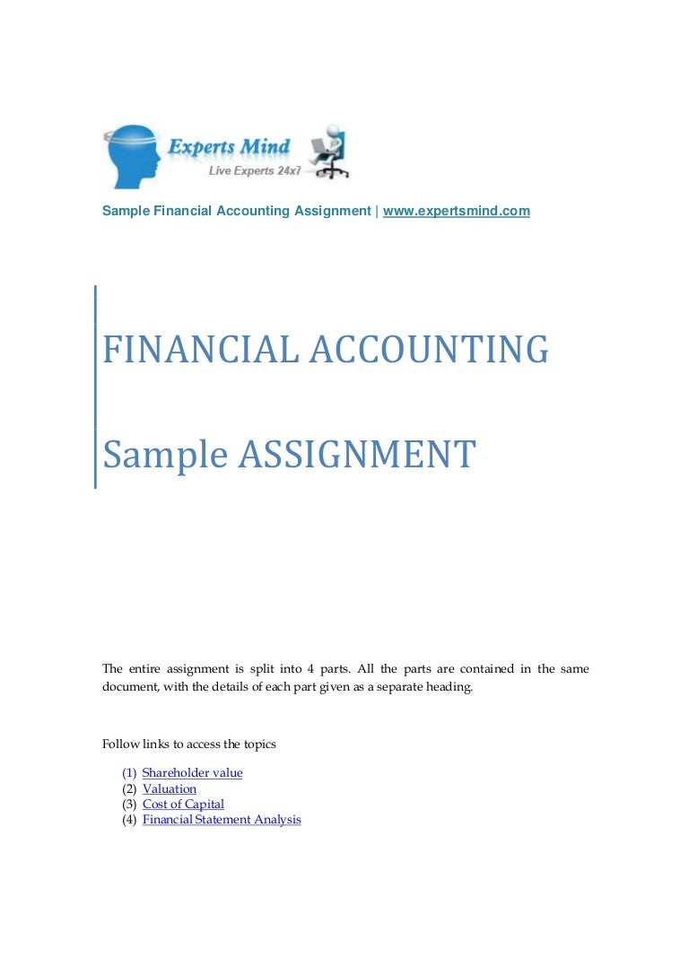 accounting assignment related post of accounting assignment