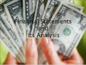 Analysis of Financial statements of...