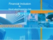 Financial inclusion economics club