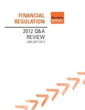 Financial Regulation 2012 Q&A Review