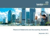 Financial statements & accounting s...