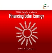 FICCI Solar Energy Task Force Repor...