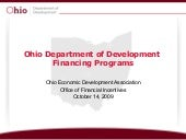 Financing Programs   Tracy Allen
