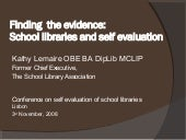Finding The Evidence   Lisbon Nov 0...