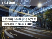 Finding emerging cyber threats in real time ebook