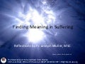 Finding Meaning in Suffering